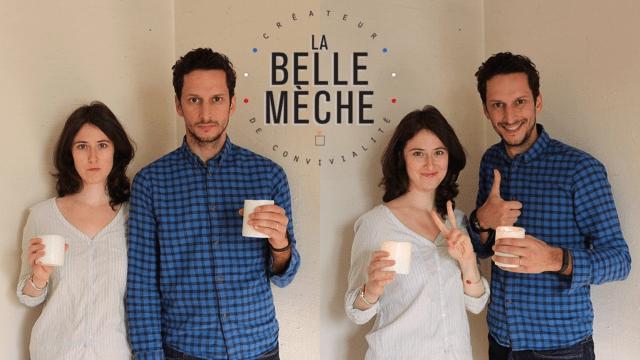 Pierre et Laura Dellinger de La Belle Mèche