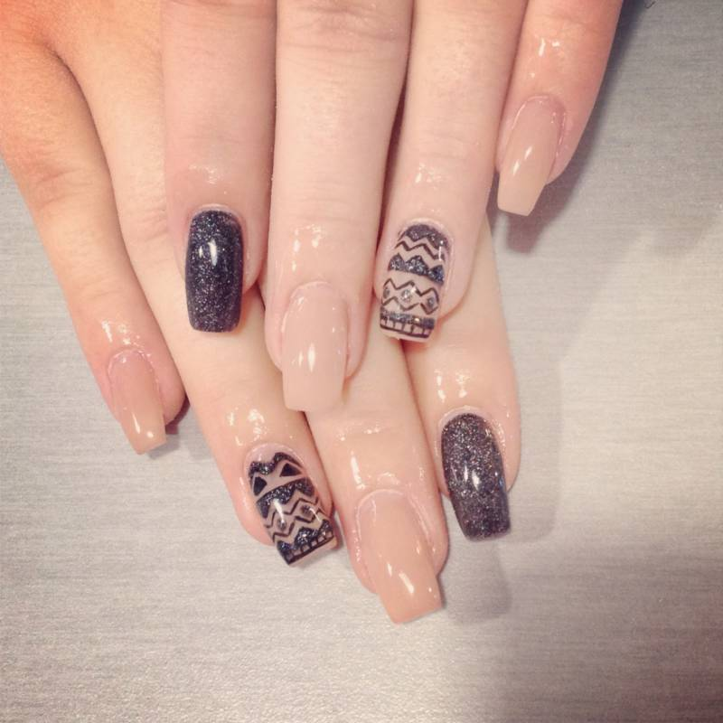 L e trendy bar ongles six fours from toulon with love - Ongles pour les fetes ...