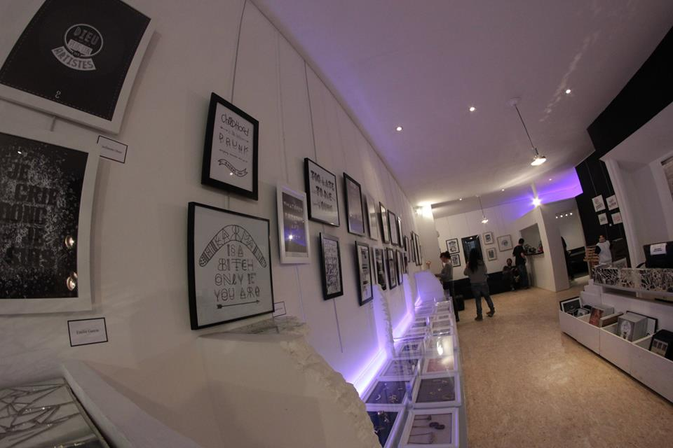 Expo Typographia II Galerie NO/ID* Toulon