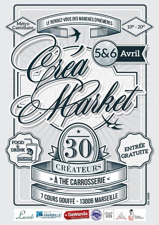 Créa'Market #2 Marseille