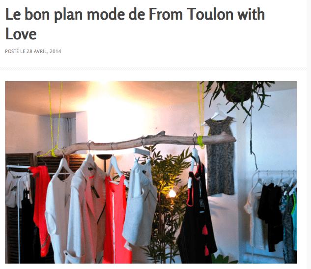 Atelier 165 bonne adresse mode shopping créateurs Carqueiranne blogueuse Toulon