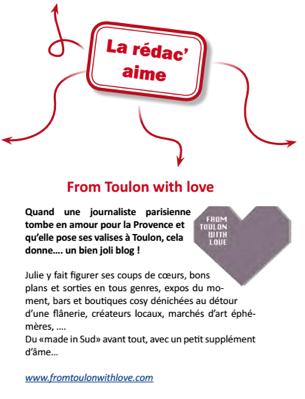 Le Petit Carré magazine mai 2014 Conseil Général du Var (PACA) - coup de coeur blog bons plans Toulon