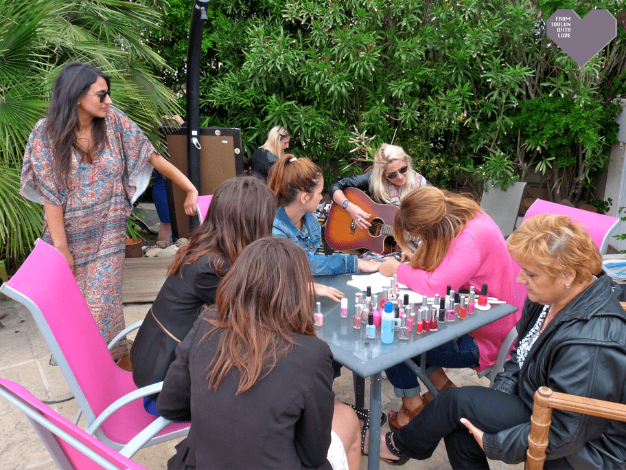 Les Copines d'Abord beauty party Marseille