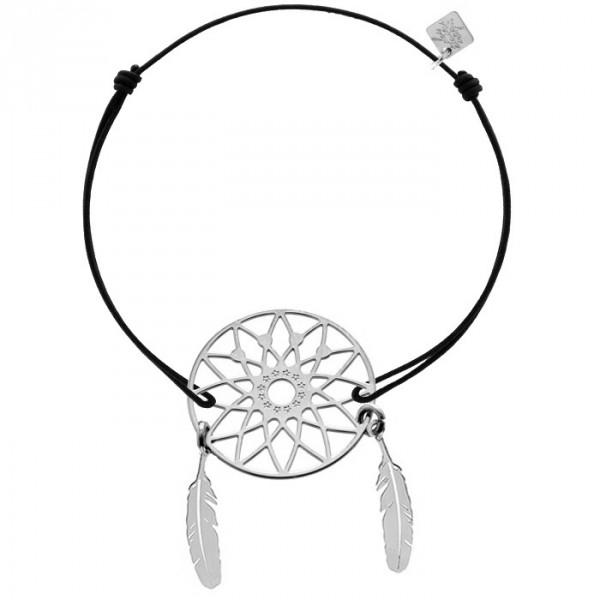 bracelet Lucky Stars Dream silver Les étoiles de Lily