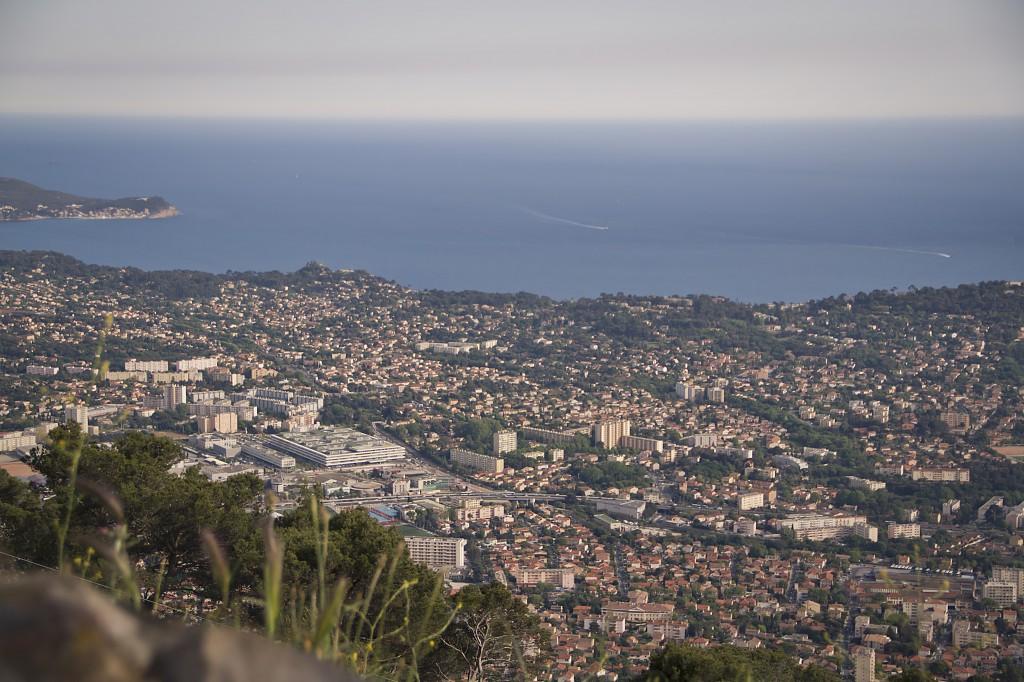 Vue Mont Faron Toulon