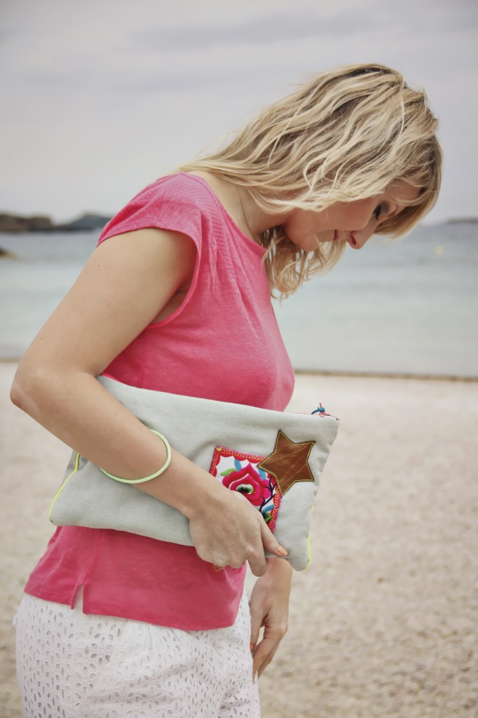 Look boho Virgin EthniK + beachwaves Julie From Toulon with Love Fashion blogger Toulon Var PACA frenchriviera