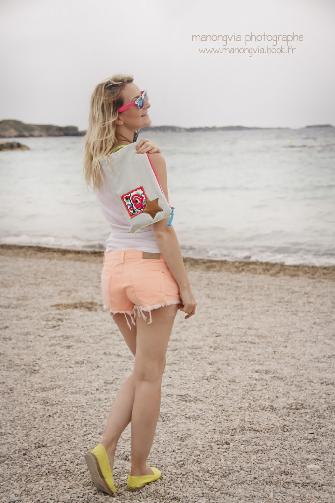 Look boho + beachwaves Julie From Toulon with Love Fashion blogger Toulon Var PACA frenchriviera