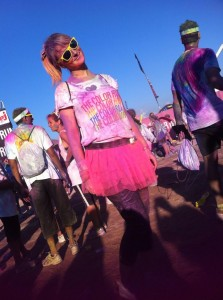blogueuse From Toulon with Love team tutu Color Run Marseille 2014
