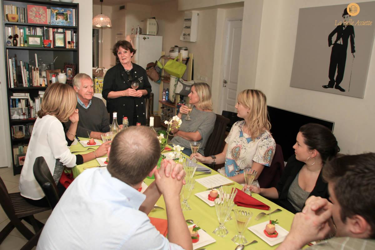 La Belle Assiette chef à domicile Toulon var PACA 83