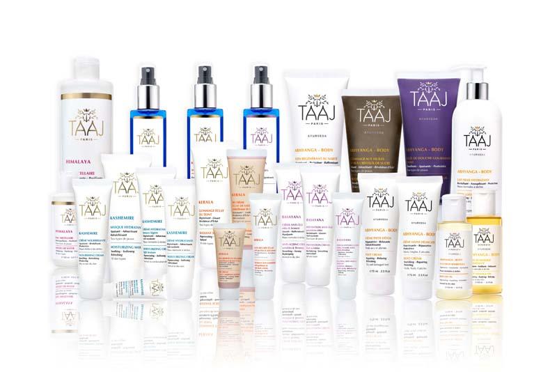 produits cosmetiques gamme TAAJ
