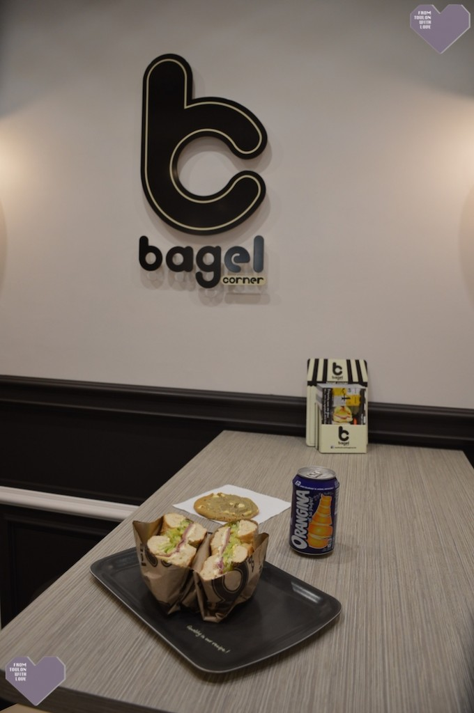 Bagel corner fast food Toulon