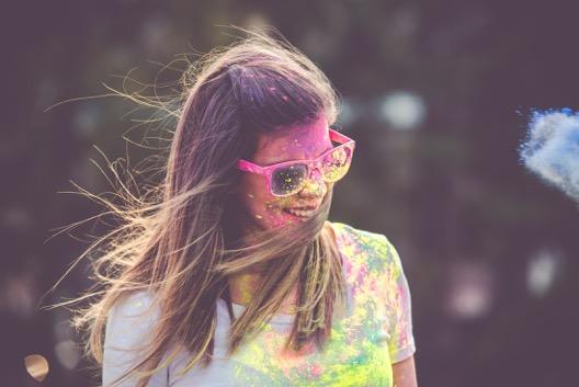 poudre colorée course Color Azur Fréjus 83