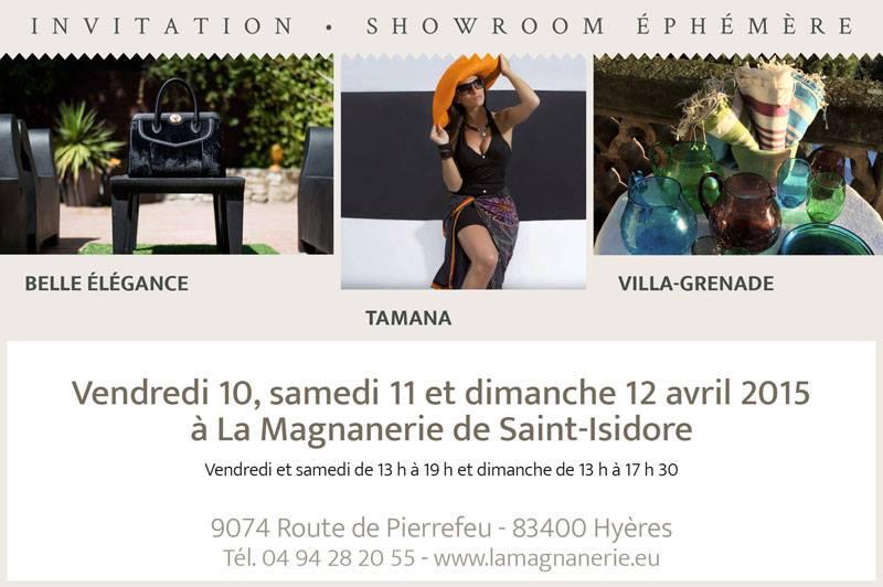 Vente éphémère mode luxe La Magnanerie Hyères 83
