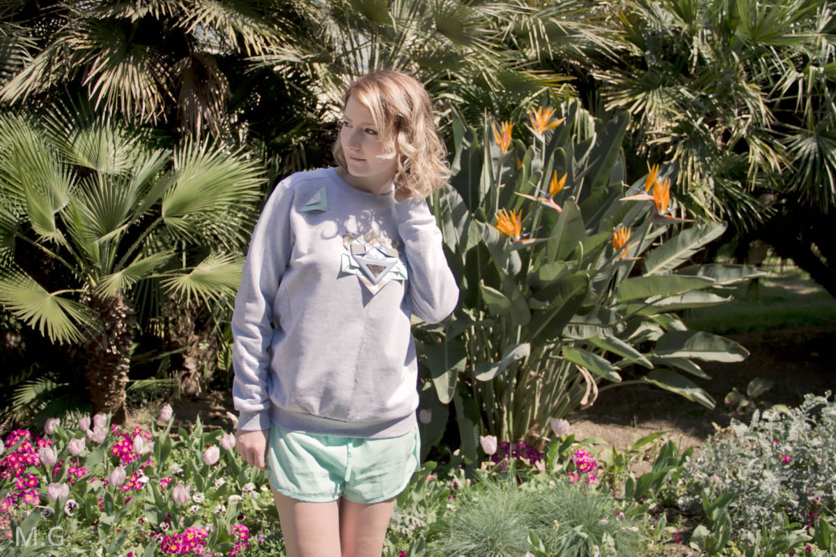 FTWL x ZETTE collaboration blogueuse mode From Toulon with Love et styliste Marseille Roxane Jean shooting Hyères Manon G-Via