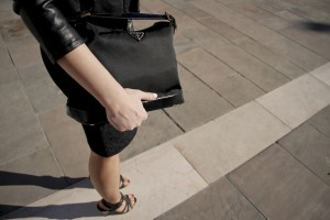 shooting look ootd blog mode france place Liberté toulon sac Prada