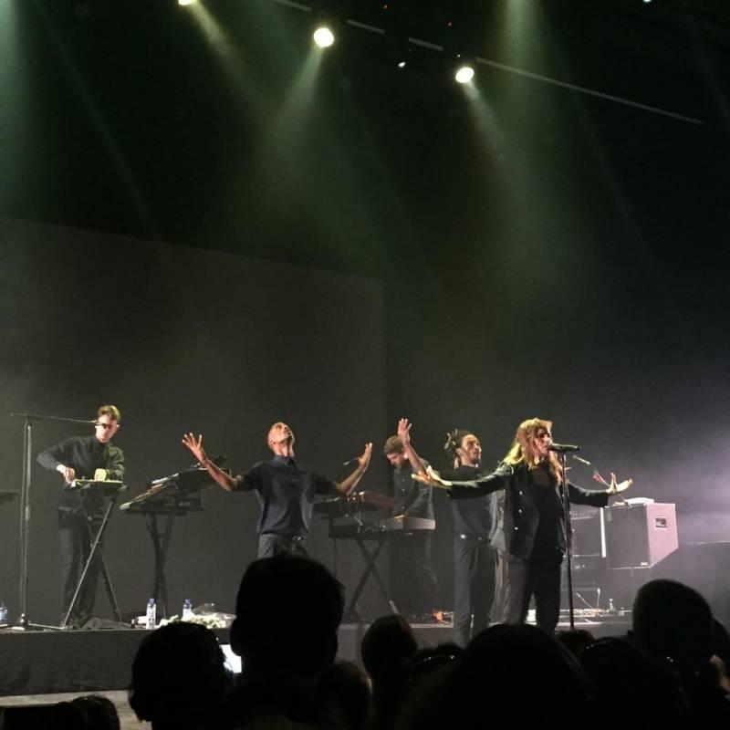 photo concert privé Chérie FM Toulon Christine and the Queens Toulon blog varois