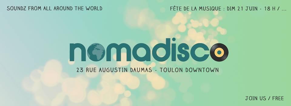 nomadisco fête musique toulon 21 juin 2015 concerts centre-ville
