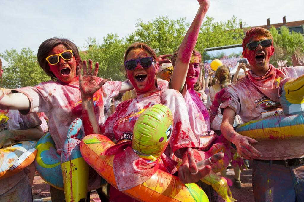 Run'Bow Colors course colorée Toulon 2015