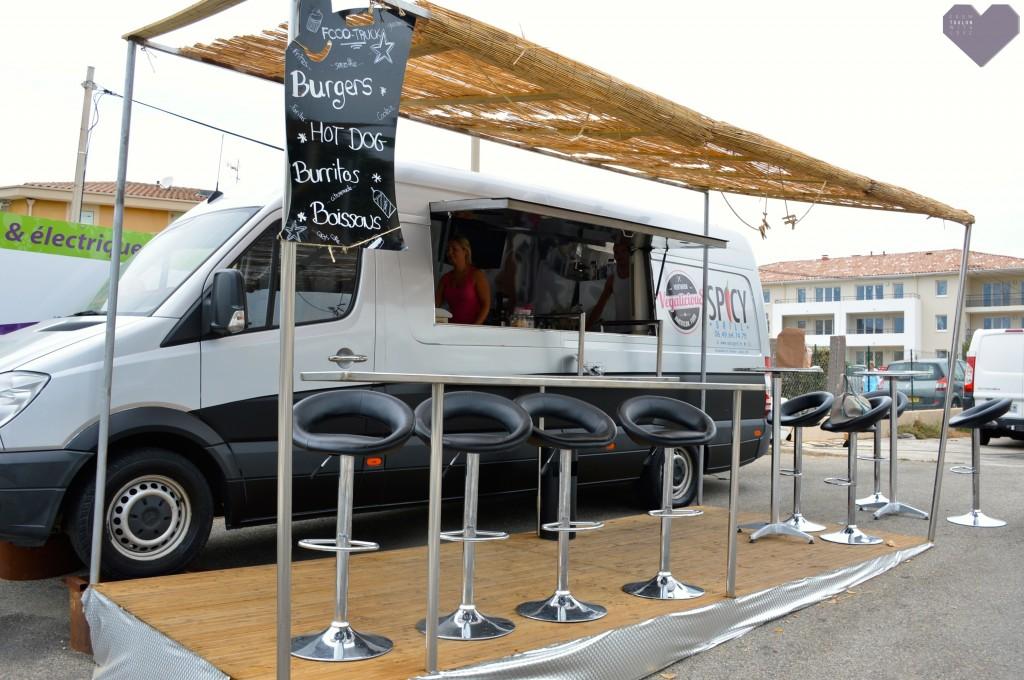 foodtruck vegalicious six-fours manger végétarien VG près Toulon 83