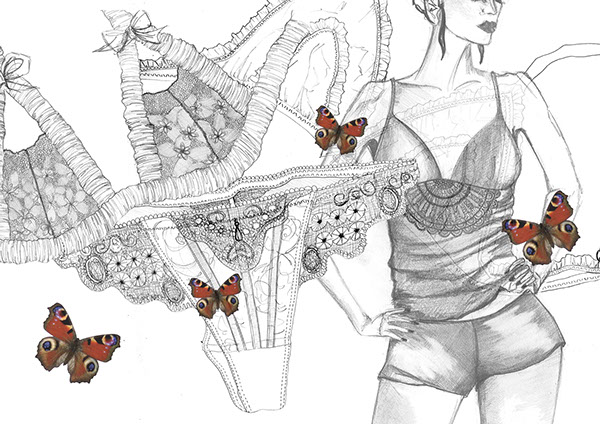 https://www.behance.net/gallery/1044757/Lingerie-Illustrations