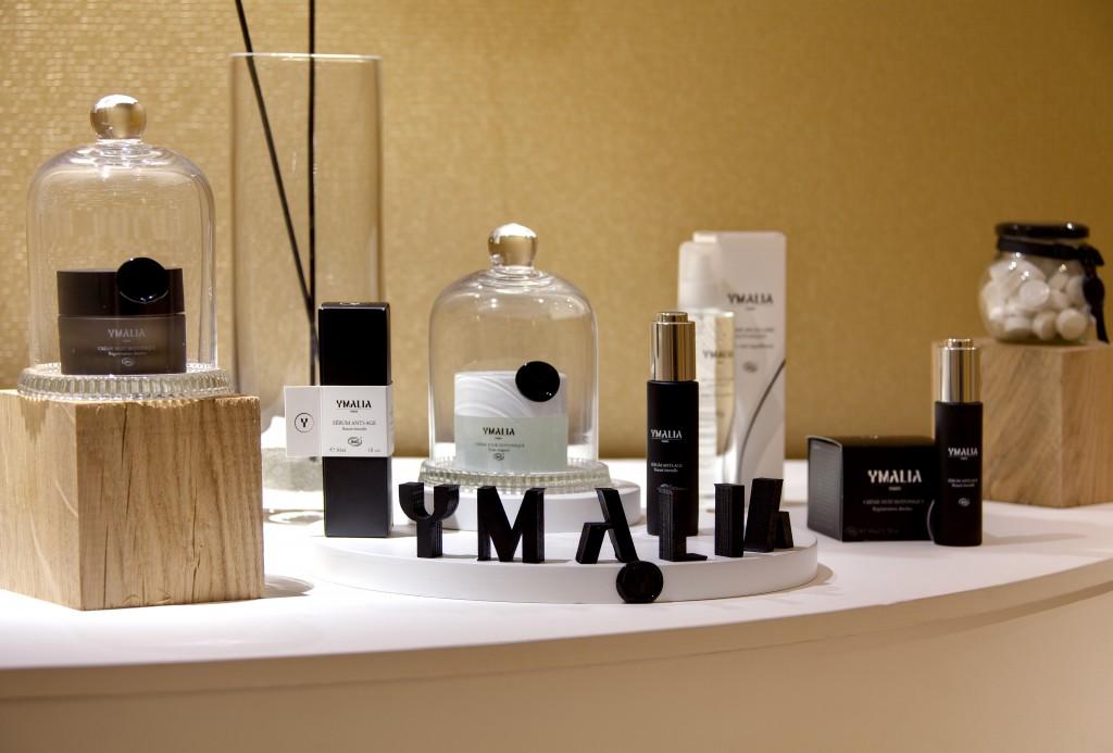 Présentoir Ymalia blog beauté Spa hotel renaissance aix en provence