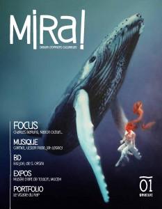 couverture magazine MiRa! #1 en PDF