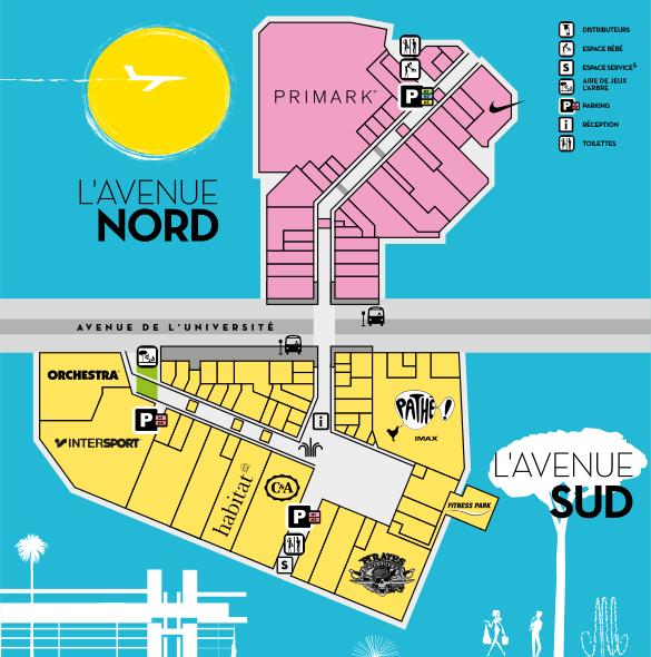 plan avenue 83
