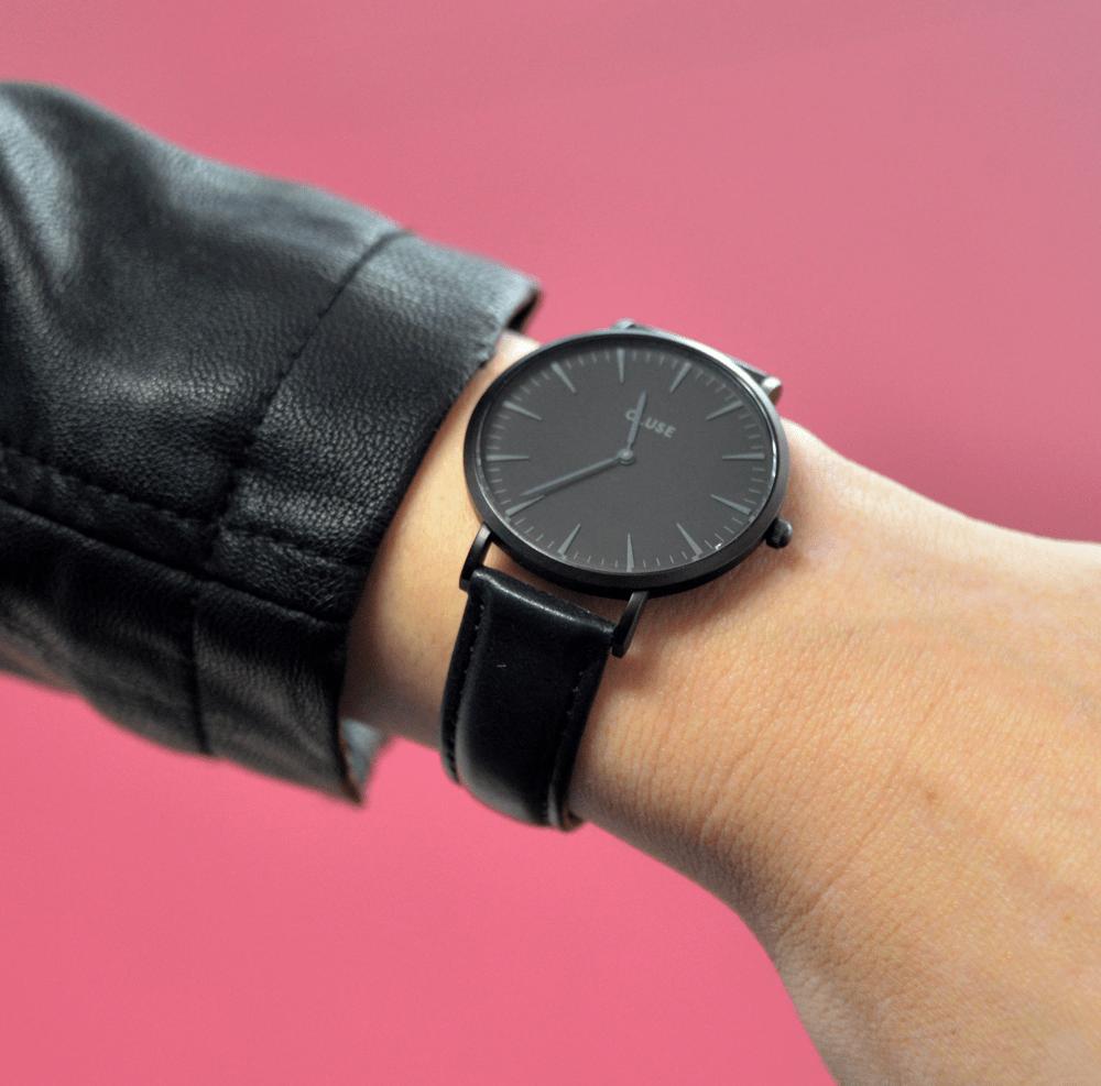 montre-watch-CLUSE-black