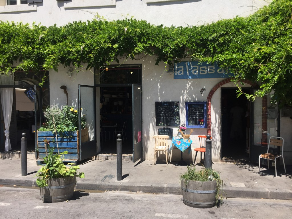 la passerelle restaurant bio marseille vieux port