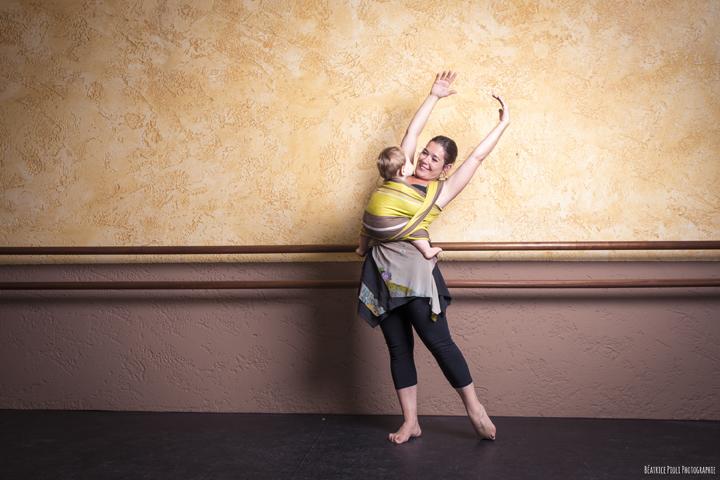 cours danse maman bébé écharpe six fours toulon