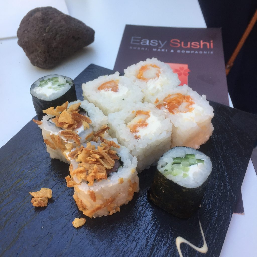 easy sushi carqueiranne et d sormais la valette from toulon with love. Black Bedroom Furniture Sets. Home Design Ideas