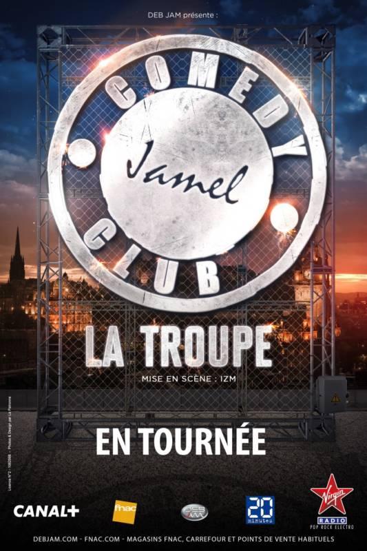 jamel debbouze la troupe tournée france 2017 ollioules chateauvallon