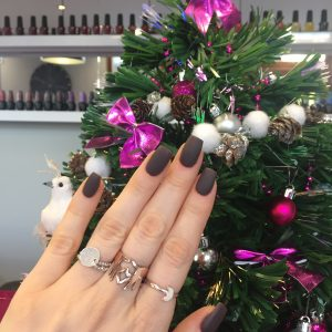 ongles de fêtes 2018 gel uv chablon ballerine blog beaute toulon bar ongles sanary